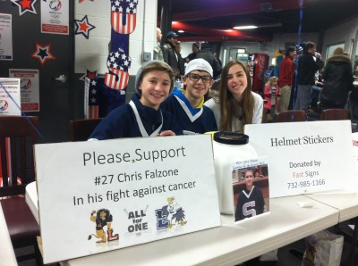MiddSouth Hockey Rallies Around Chris Falzone