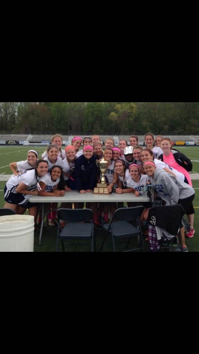 Lady Eagles Lax Trounces North in First Annual Mayor's Cup