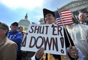 Save the Economy…without the Tea Party!