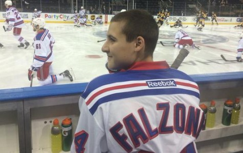 South's Own Chris Falzone Signs with New York Rangers For a Day