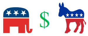 Both parties take campaign money