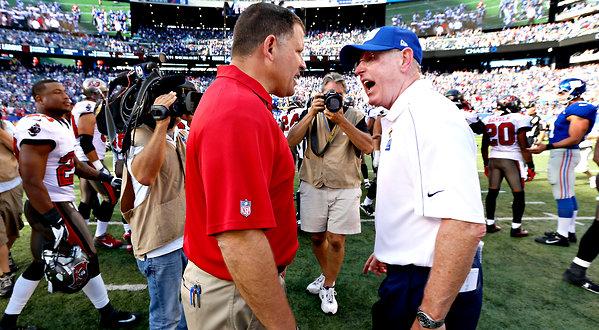 coaches arguing