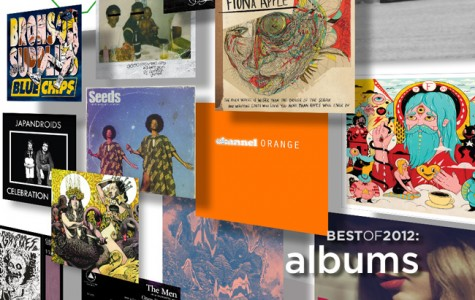 A Year in Review: Best Album's of 2012