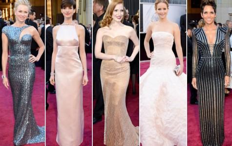 The Stars' Shining Fashions at the 2013 Oscars