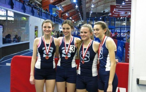 Weimer Leads Girl's Track in Winter Success