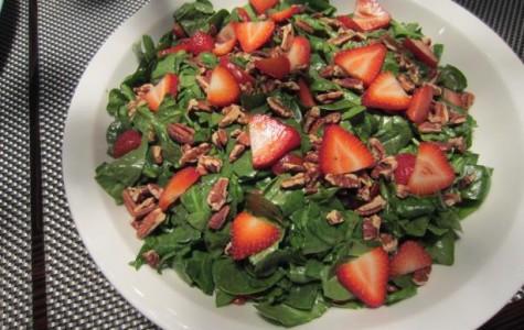 Fresh Spring Strawberry Salad