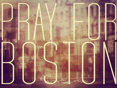 Our Prayers to Boston