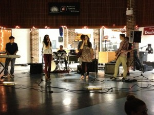 Students and their band members performing for the EHTC Benefit Concert. All photos courtesy of Sharon Sangermano.