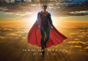 Henry Cavill in the theatrical poster for Man of Steel, a reboot of the Superman series and one of the hottest anticipated movies for the summer. Photos courtesy of Google Images.