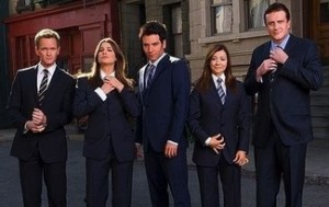 The core cast of How I Met Your Mother