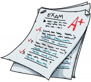 Quarterly exams necessitate that students rise to the stressful occasion