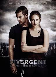 Divergent was a thrilling, fast-paced film.