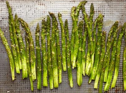 Spring Recipes: Roasted Asparagus