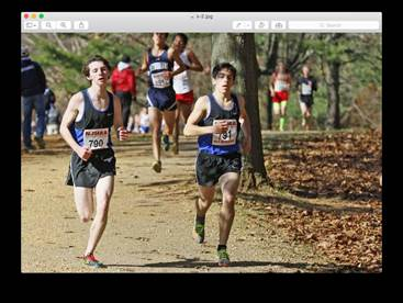 Mangarelli and Lepine make 1st Team All-Monmouth XC Team