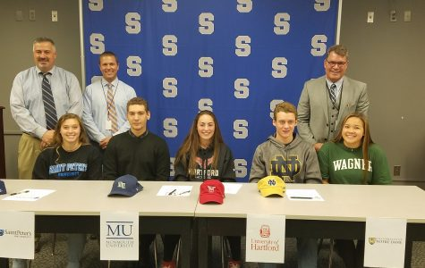 South Athletes Sign!