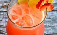 Refreshing Strawberry Punch
