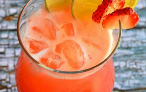 Refreshing Strawberry Punch