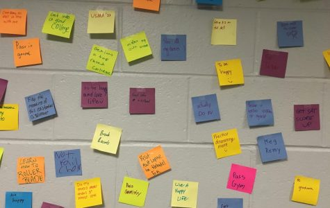 Post-Its Produce Positive Reminders