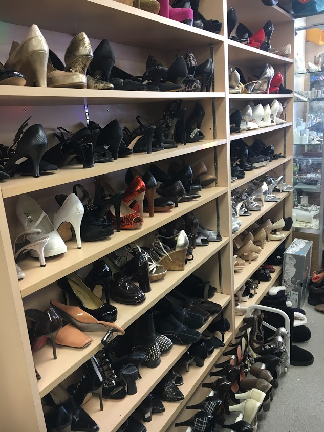 Tons of shoes to choose from