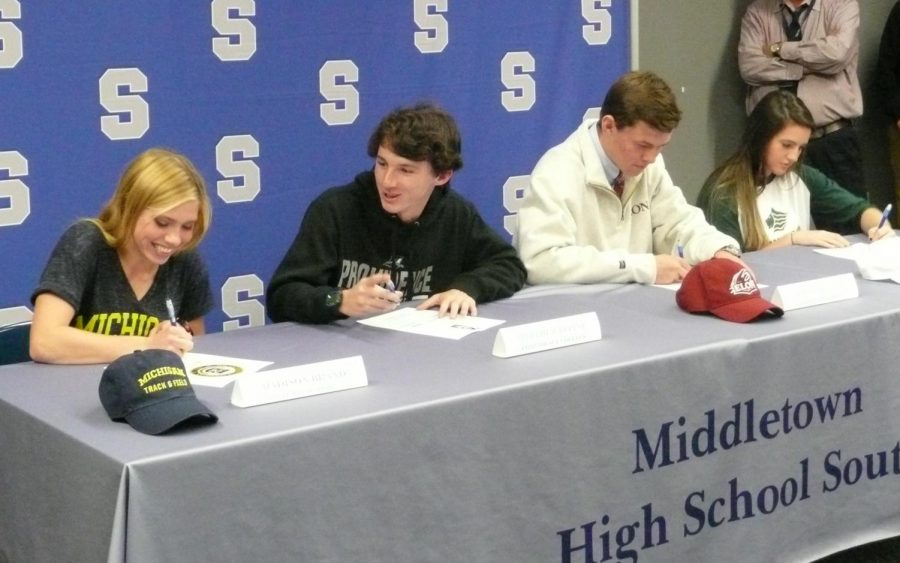 National Letter of Intent – South Signing Day – The Eagle Eye