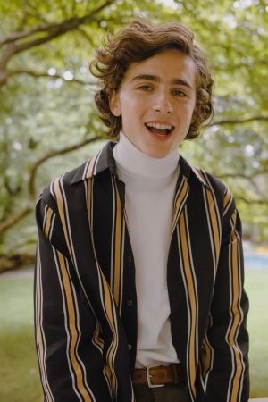 Timothee Chalamet, photographed for Vogue