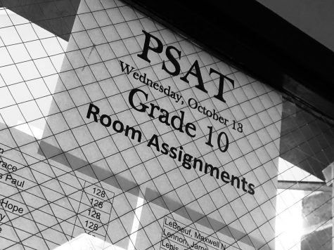 South Holds PSAT, Freshman and Senior Activities